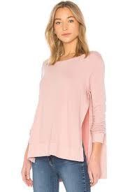 LAmade Side Split Blush Sweatshirt