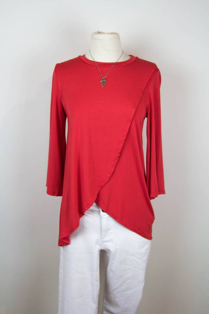 LAmade LAmade Lady Red Cross Over Top