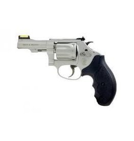 "Smith & Wesson Smith & Wesson 317, Revolver, Small, 22LR, 3"", Alloy, Stainless, Rubber, 8Rd, Right Hand, 11.9oz, Fixed Sights 160221"