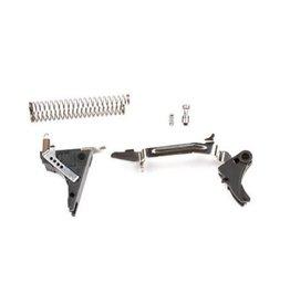 ZEV Tech Adjustable Fulcrum Ultimate Trigger Kit, 4th Gen, Glock 9mm, Blk/Blk