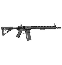 """Knights Armament Company, (LEO Only) SR-15 Mod2 MLOK, Semi-automatic Rifle, 223 Rem/556NATO, 16"""" Hammer Forged Chrome Lined Barrel, 1:7 Twist, Black Finish, Magpul MOE Stock, 30Rd, Upper Receiver Extending 4, 2 Stage Match Trigger"""