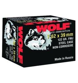 Wolf 762BFMJ Performance 7.62X39 Bimetal FMJ 123 GR 20rds