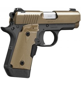 Kimber 3300168 Micro 9 Desert Tan (LG) Pistol - 9MM, 3.15 in Barrel