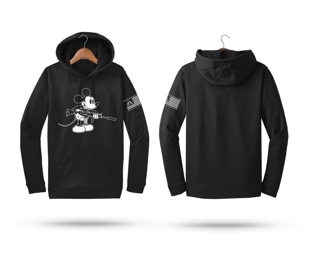 SBR Mickey Hoodie, Black, S