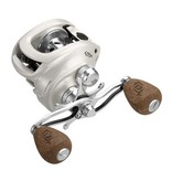 13 Fishing, Concept C Low -Profile 6.6:1 Gear Ratio Reel- LH