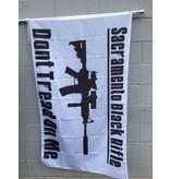 3'x5' SBR B&W Poly Flag