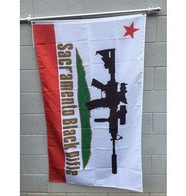3'x5' SBR CA Poly Flag