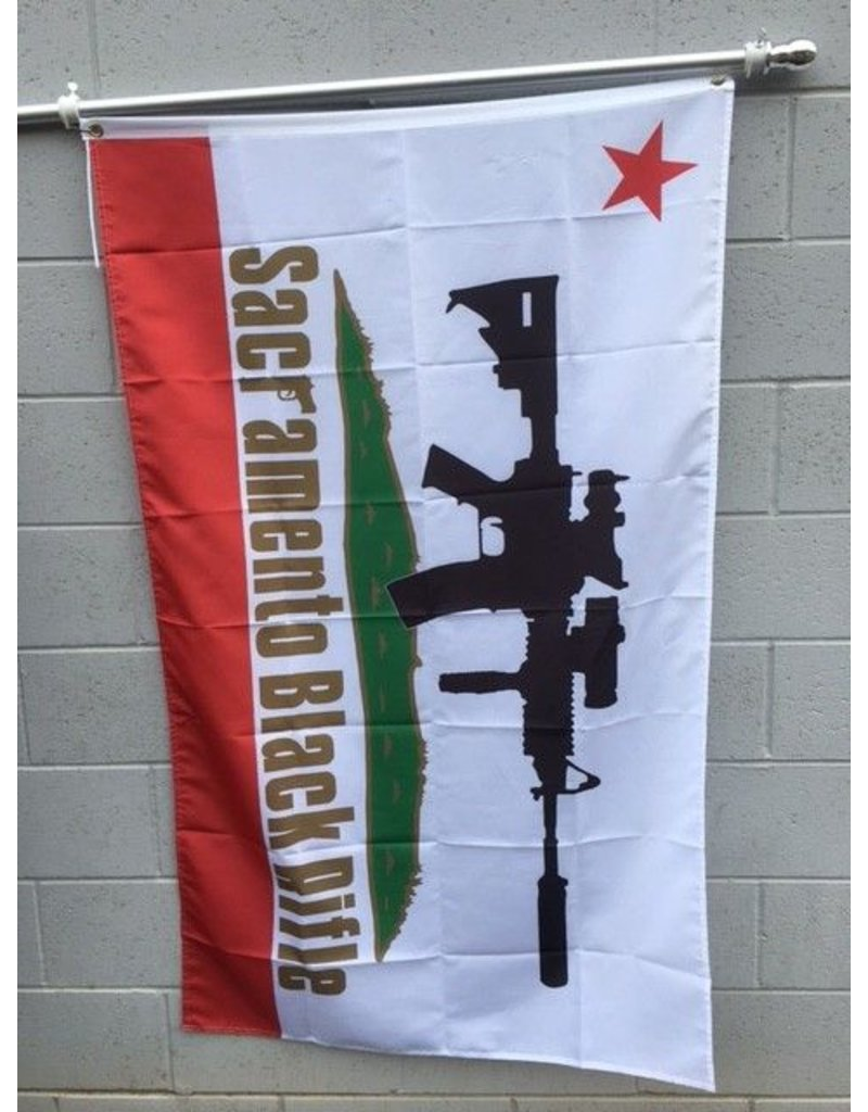 3'x5' SBR CA Poly Flag