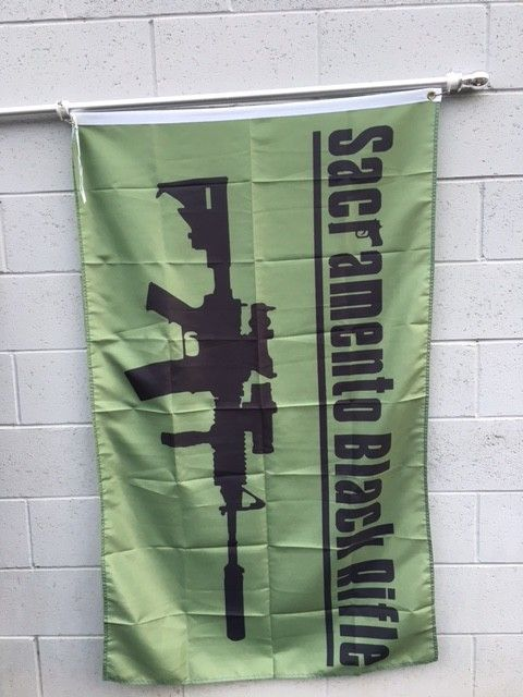 3'x5' SBR Camo Poly Flag
