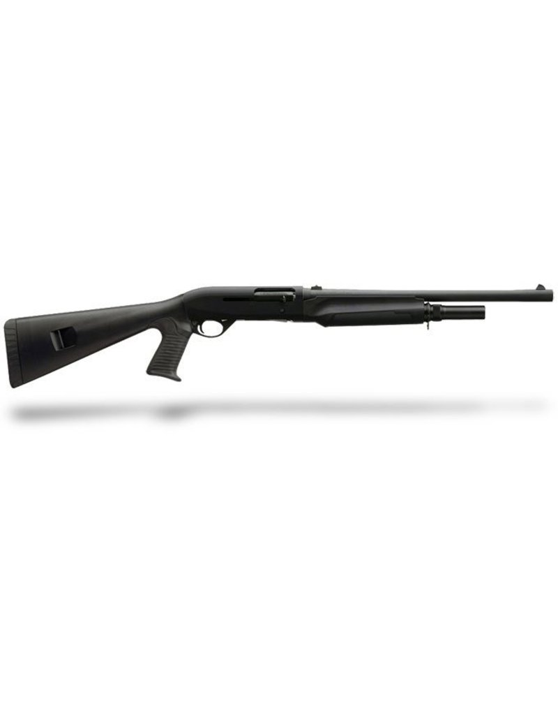 "Benelli M2 Tactical Semi-Auto Shotgun 11054, 12 Gauge, 18.5"" , 3"" Chmbr, Black Synthetic, Pistol Grip, Tactical Rifle Sight"