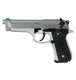 Beretta 92FS Semi Automatic Pistol JS92F520, 9 MM, 4.9 in, INOX, 10 Rd