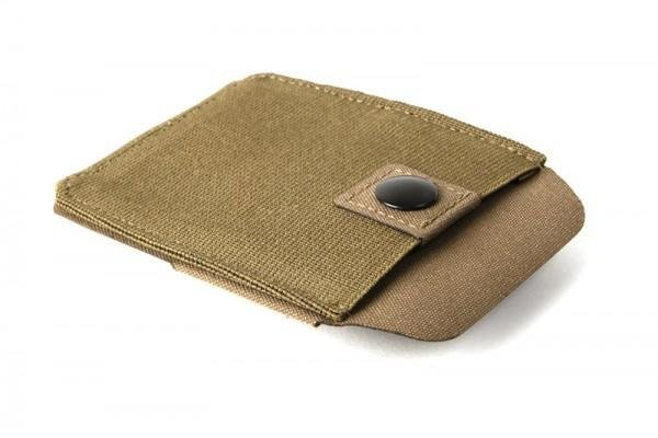 Blue Force Belt Mounted Handcuff Pouch - Coyote