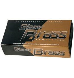 CCI Blazer Brass Pistol Ammunition 5230, 45 ACP, Full Metal Jacket (FMJ), 230 GR, 830 fps, 50 Rd/bx