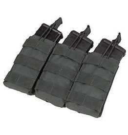 Condor Triple Open-Top M4 Mag Pouch - Black