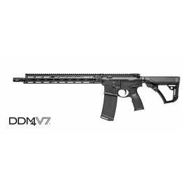 Daniel Defense Daniel Defense M4 Rifle, V7 Featureless M-LOK, No Sights, 5.56mm, DD Furniture, Black Finish, (02-128-02081-047)