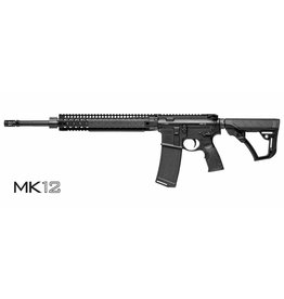 "Daniel Defense Daniel Defense MK12 Carbine, DA-13175, 5.56mm, 18"" Stainless Bbl, DDM4 12"" Rail, Black Finish"