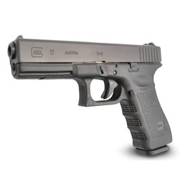 Glock Glock 17 Pistol, 9 MM, 4.49 in, Fixed Sights