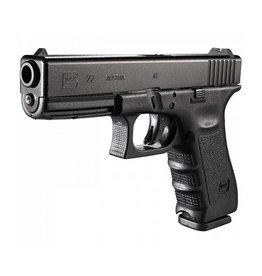Glock Glock 22 Pistol, 40 S&W, 4.49 in, Fixed Sights
