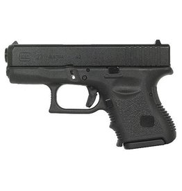 Glock Glock 27 Subcompact Pistol, 40 S&W, 3.46 in, Fixed Sights, 9 Rd