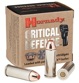 Hornady Critical Defense Ammunition 90250, 9 mm, Flex Tip Expanding, 115 GR, 25 Rd/Bx