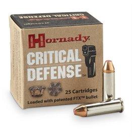 Hornady Critical Defense Ammunition 90310, 38 Special, Flex Tip Expanding, 110 GR, 1010 fps, 25 Rd/bx