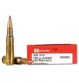 Hornady TAP A-Max Precision Rifle Ammunition 80965, 308 Win, 168 GR, 20 Rd/bx