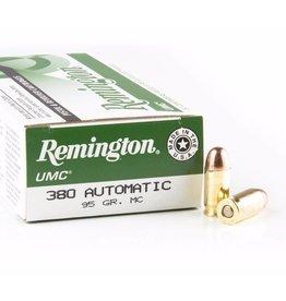 Remington UMC Value Pack L380AP, .380, Metal Case (MC), 95 GR,  50 Rd/b