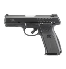 Ruger 9E Pistol 3340, 9mm, 4.14 in, Glass Filled Nylon Grip, Black Finish, 17 Rds