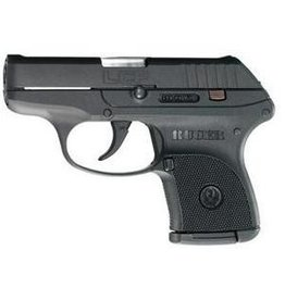 "Ruger LCP Pistol 3701, .380 ACP, 2.75"" Barrel, Black High Performance Glass-Filled Nylon Grip, Blue Finish,  Fixed Sights, 6rd"