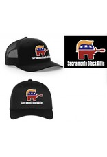 "SBR, ""The Deplorable"" Black Flexfit Hat L/XL"