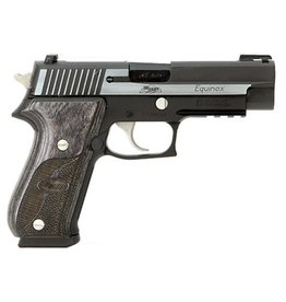 "Sig Sauer Sig Sauer P220 Equinox 220R45EQCA, 45 ACP, 4.4"", Wood Grip, Two Tone Finish, Truglo Front; Siglite Rear Sights, 8 Rd"