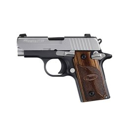"Sig Sauer Sig Sauer P238 Pistol 238380SAS, 380 ACP, 2.72"", Plastic Grip, Duo Tone Finish, 6 Rd,"