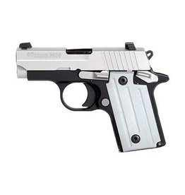 "Sig Sauer Sig Sauer P238 Pistol 238380TSSCA, 380 ACP, 2.72"", Plastic Grip, Duo Tone Finish, 6 Rd, (CA Approved)"