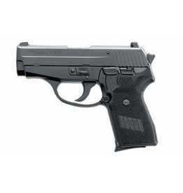 Sig Sauer Sig Sauer P239 23940B, 40 S&W, 3.6 in, Polymer Grip, Black Finish, Contrast Sights, 7 Rd