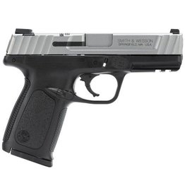 Smith & Wesson Smith & Wesson SD VE Pistol 123403, 40SW, 4 in, Textured Polymer Grip, Stainless Finish, 10 Rd, CA Compliant