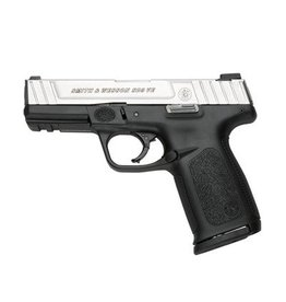 Smith & Wesson Smith & Wesson SD9 VE Pistol 123903, 9mm, 4 in, Textured Polymer Grip, Stainless Finish, 10 Rd, CA Compliant