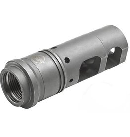 SureFire SFMB-556-1/2-28, Muzzle Brake / Suppressor Adapter for AR15/M16/HK416 and other 5.56mm/.223 Rifles with 1/2x28 Muzzle Threads