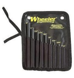 Wheeler Roll Pin Punch Kit
