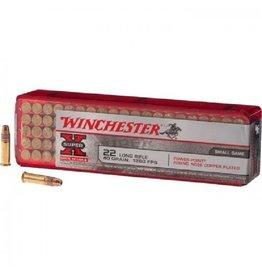 Winchester Super-X Ammunition X22LRPP1, 22 LR, Hollow Point (HP), 40 GR, 1280 fps, 100 Rd/bx