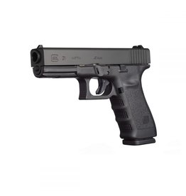 Glock Glock 21SF-Ambi (USED) Pistol, 45 ACP, 4.60 in, Fixed Sights
