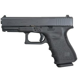 Glock Glock 23 Compact Pistol, 40 S&W, 4.02 in, Black Finish, Fixed Sights