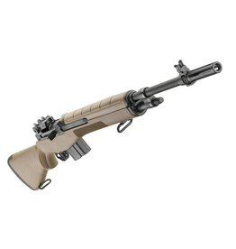 Springfield Springfield M1A Standard Rifle, 308 Winchester, 22 in, FDE Stock, Blue Finish
