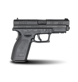 "Springfield Springfield XD-40 Essentials Package XD9102, 40 S&W, 4"", Checkered Polymer Grip, Black Slide/Black Frame, 10 Rd"