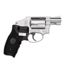 "Smith & Wesson Smith & Wesson 642 Airweight Revolver 163811, 38 Special, 1.87"", Crimson Trace Laser Grips, Stainless Finish, 5 Rd"