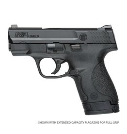 Smith & Wesson Smith & Wesson Shield Pistol 10035, 9mm, 3.1 in, Textured Polymer Grip, Black Finish, 7 Rd, No Manual Safety