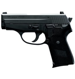 Sig Sauer Sig P239 Pistol 2399BSSCA, 9mm, 3.6 in, Black Polymer Grip, Black Finish, Night Sights, 8 Rd
