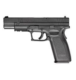"Springfield Springfield XD-45 Package XD9621SP06, 45 ACP, 5"", Checkered Polymer Grip, Black Slide/Black Frame, 10 Rd"