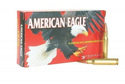 Federal Ammunition A76251M1A , 7.62mm NATO, 168 GR OTM, 20 Rd/bx