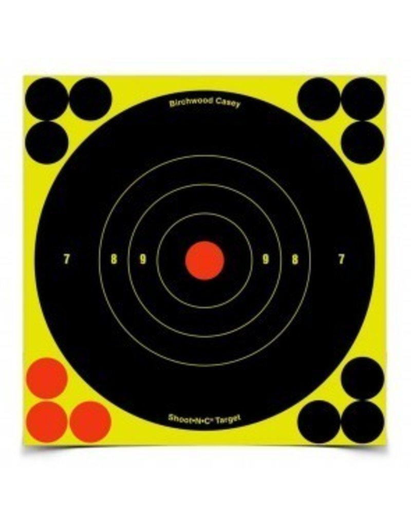 """BIRCHWOOD CASEY, SHOOT-N-C, 6"""" Round Target 60PK"""