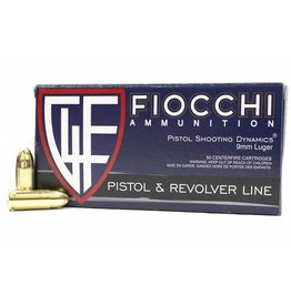 Fiocchi 9mm 115gr FMJ 50/rd Box
